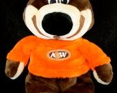 """Vintage 1980 A&W Bear Stuffed Plush Teddy Bear 16"""""""