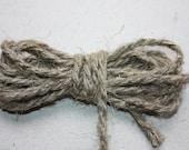 3 mm Linen Rope - 1 Spool = 27 Yards = 25 Meters of Natural Linen