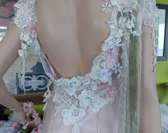 wedding dress Romantic Wedding dress fairy feminine butterfly bride alternative beach dress