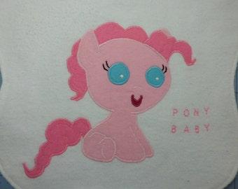 Baby Pinkie Pie My Little Pony Baby Bib