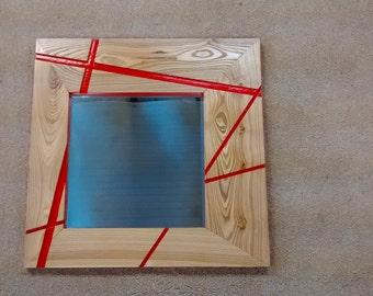 Asymmetrical Modern Mirror