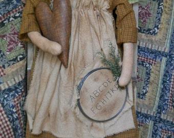 Prairie Doll Angel E Pattern