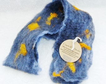 Scarf - hand felted
