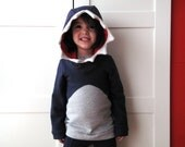 Shark sweater costume sweatshirt, hoodie cosplay, dress up sweater. Jaws sweatshirt, toddlers and kids. Disguise. Made to order.