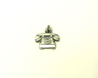 Sterling Silver Rotary Telephone Charm - O.C. Tanner Jewelry Co.