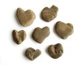 Heart Shaped Rocks - Natural River Beach Stones