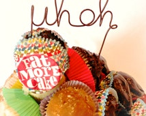 Funny Cake Topper, Engagement Party Decor