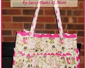Extra Large Utility Style Handbag / Diaper Bag