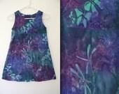 90's Tie-Dye Seapunk Babydoll Dress