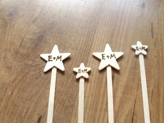 Items Similar To Wedding Stir Sticks. Written In The Stars