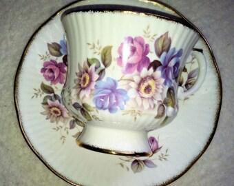 Floral Elizabethan Tea Cup