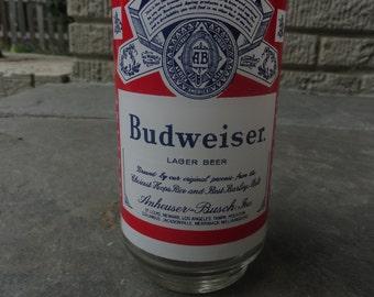 Vintage Budweiser glass