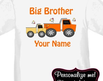 Big Brother Truck Personalized T Shirt