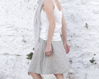 SIMPLICITY linen skirt