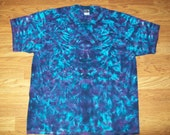 S M L Xl 2x 3x 4x 5x 6x Tie Dye Shirt, Kids, Adult, Plus size tie dye- Midnight Crush
