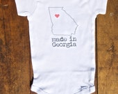 Made in Georgia Onesie
