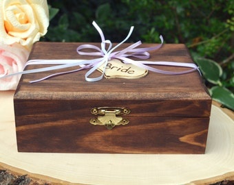 NEW:  Bride Keepsake Box, larger size