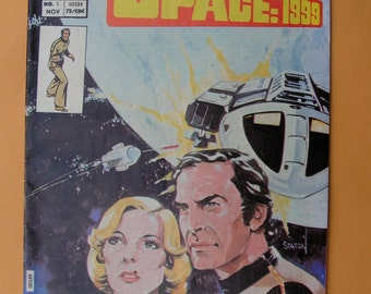 SPACE:1999 - Charlton Comics - Issues 1 and 4 - 1975