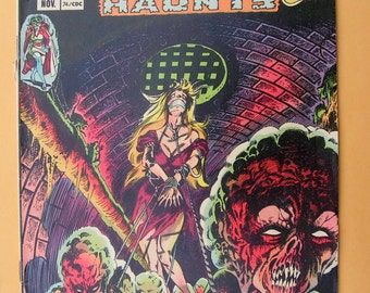 GHOSTLY HAUNTS - set of eight books - Charlton Comics - 1971 - 1977
