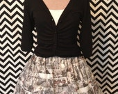 Walking Dead inspired cupcake skirt