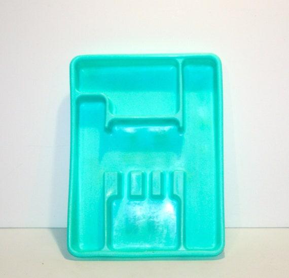 Vintage Lustro Ware Turquoise Teal Aqua Kitchen Gadgets