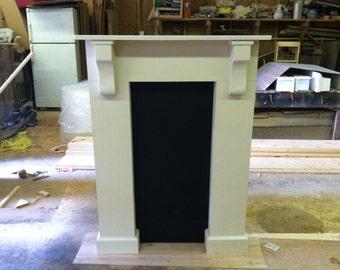 Faux Full surrounding Fireplace mantel shelf - false mantel