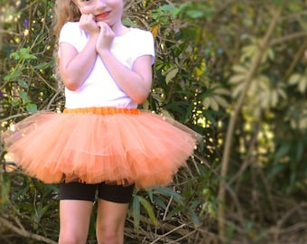 Custom Sewn Tutu, 8-inch Long  in Many Colors and Sizes