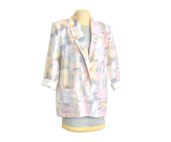 Pastel Pink Blazer Womens Blazer Oversize Blazer Plus Size Blazer Boyfriend Blazer Casual Blazer Plus Size Clothing 90s Blazer Jacket