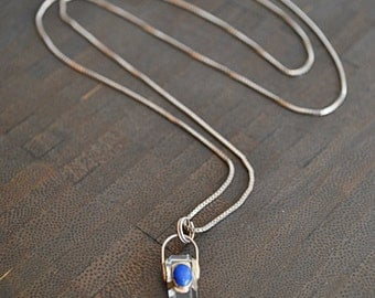 Crystal STERLING SILVER  NECKLACE