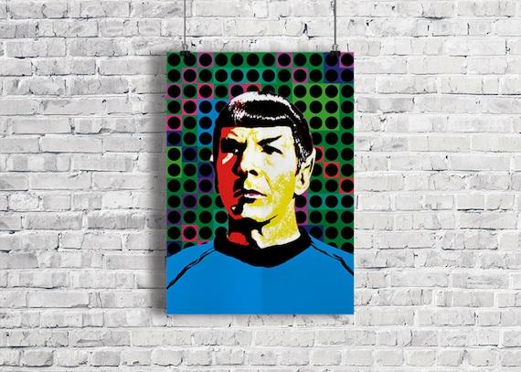 MR SPOCK Star Trek Illustration