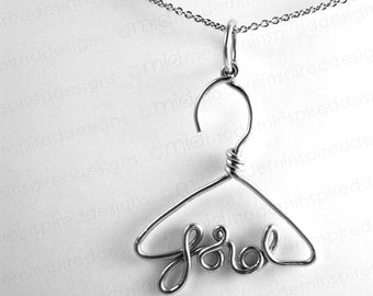 Put on Lord - Christian Necklace- Lord- Christian Jewelry - Jesus Jewelry - Scripture Jewelry - Faith Jewelry - Bible Verse Jewelry - Hanger