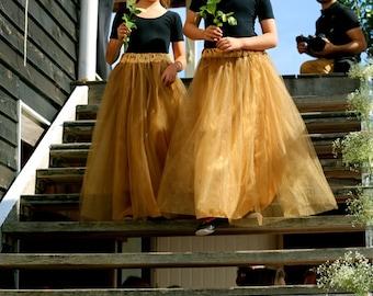 Girls / Preteen Custom Made Tulle Skirt