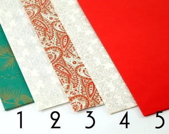 Assorted Vintage Christmas Present  Wrapping Paper