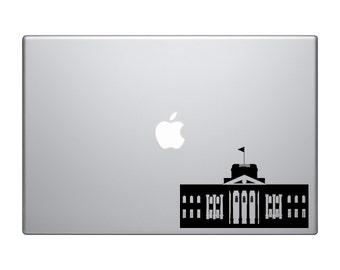 Famous Buildings Monuments - White House American Capital - Mac Apple Laptop iPad