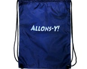 10th Doctor Drawstring Backpack: Allons-Y