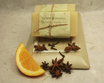 Warm Spice Shampoo Bar & Soap-Fall and Winter scent