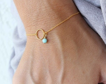 Karma Bracelet - Circle of life chain Bracelet - Eternity bracelet - Minimalist bracelet - Everyday Bracelet - Bridal Jewellery