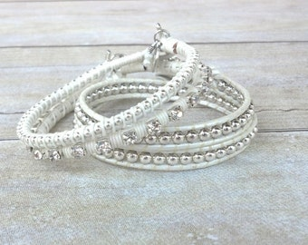 Wedding Bracelets, Bridal Bracelet, Wedding Jewelry, Bracelet Set, Jewelry Set, Romantic Jewelry, Pretty Bracelets