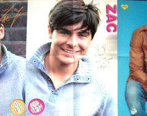 ZAC EFRON ~ Dirty Grandpa, High School Musical, Charlie St Cloud, The Lucky One, Paper Boy ~ Color Posters for Scrapbooking - Batch 2