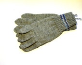 Hand Knitted Gloves, Gray Elegant Arm Warmers Gloves With Fingers, For Her, for Him,  Gift Ideas, Winter Accessories, Fall Fashion Trends