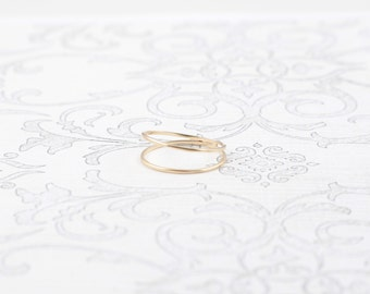 14K Double Band Ring
