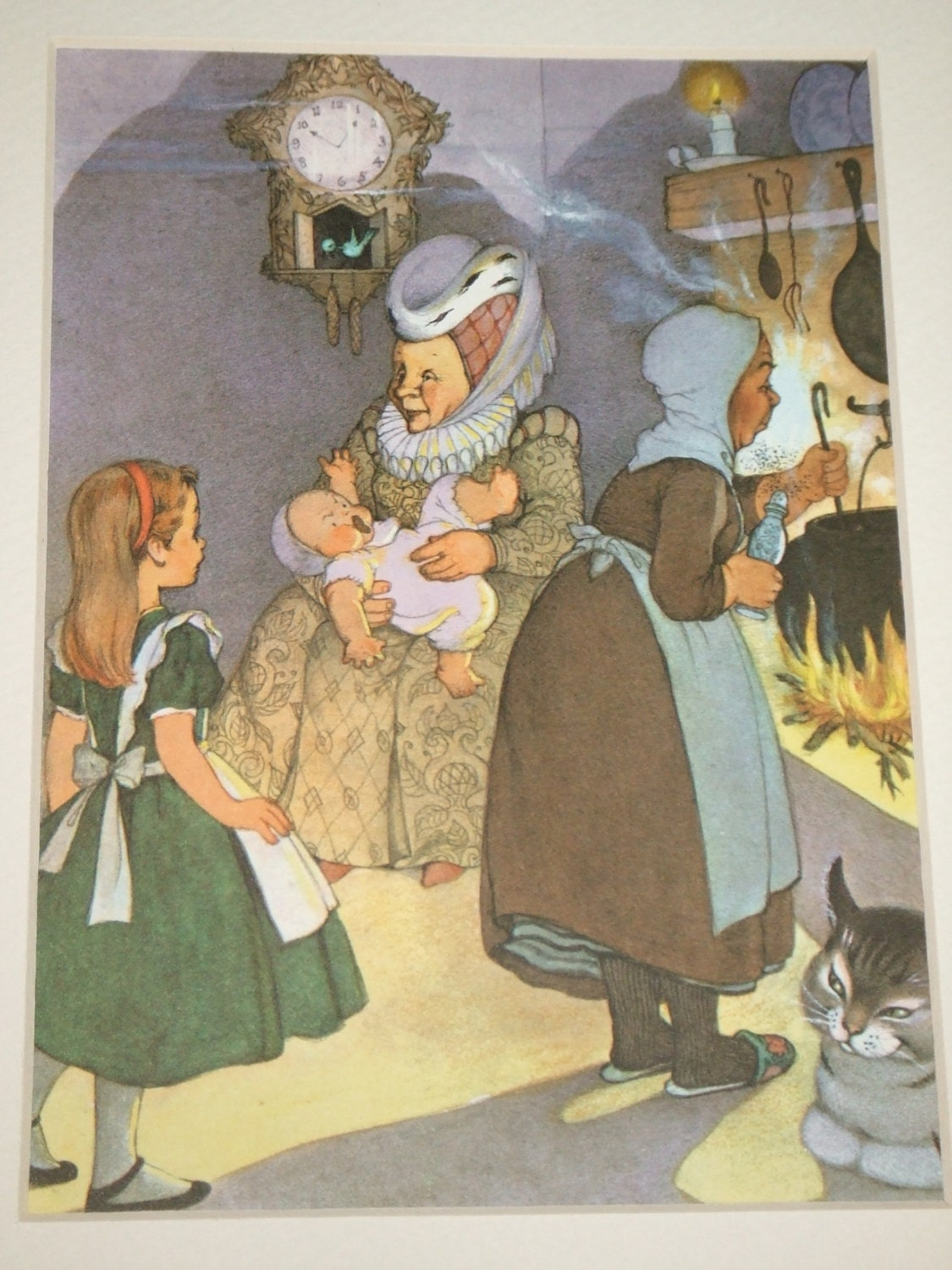 Alice in Wonderland The Duchess and The Baby 1957 by ...
