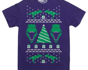 T-Rex Ugly Christmas Sweater T-Shirt