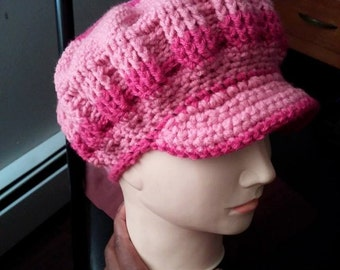 CROCHET PATTERN - Elsie hat - Permission to Sell Finished Products - Instant Download