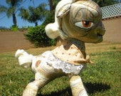 Granny Smith rag doll