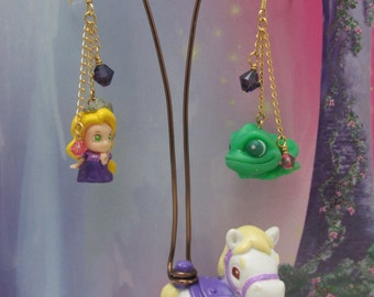 Rapunzel's Pony - Darling Earring Display Holder featuring Disney's Tangled
