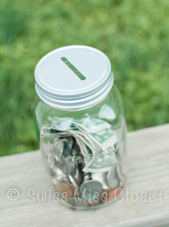 mason jar bank quart size. Black Bedroom Furniture Sets. Home Design Ideas