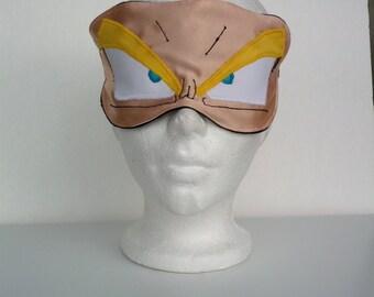 Super Saiyan Goku Anime Sleep Slumber Mask Made-to-order