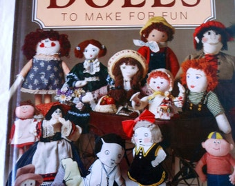 Handmade Dolls Instruction Book: Cherished Dolls to Make for Fun @LootByLouise