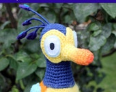 Crochet Pattern: Baby Kevin Bird inspired by Disney Pixar's UP PDF Instant Download